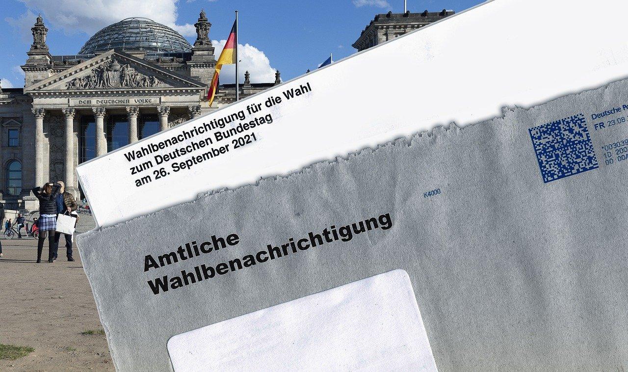 Wahlunterlagen zur Bundestagswahl 2021 im Landkreis Germersheim